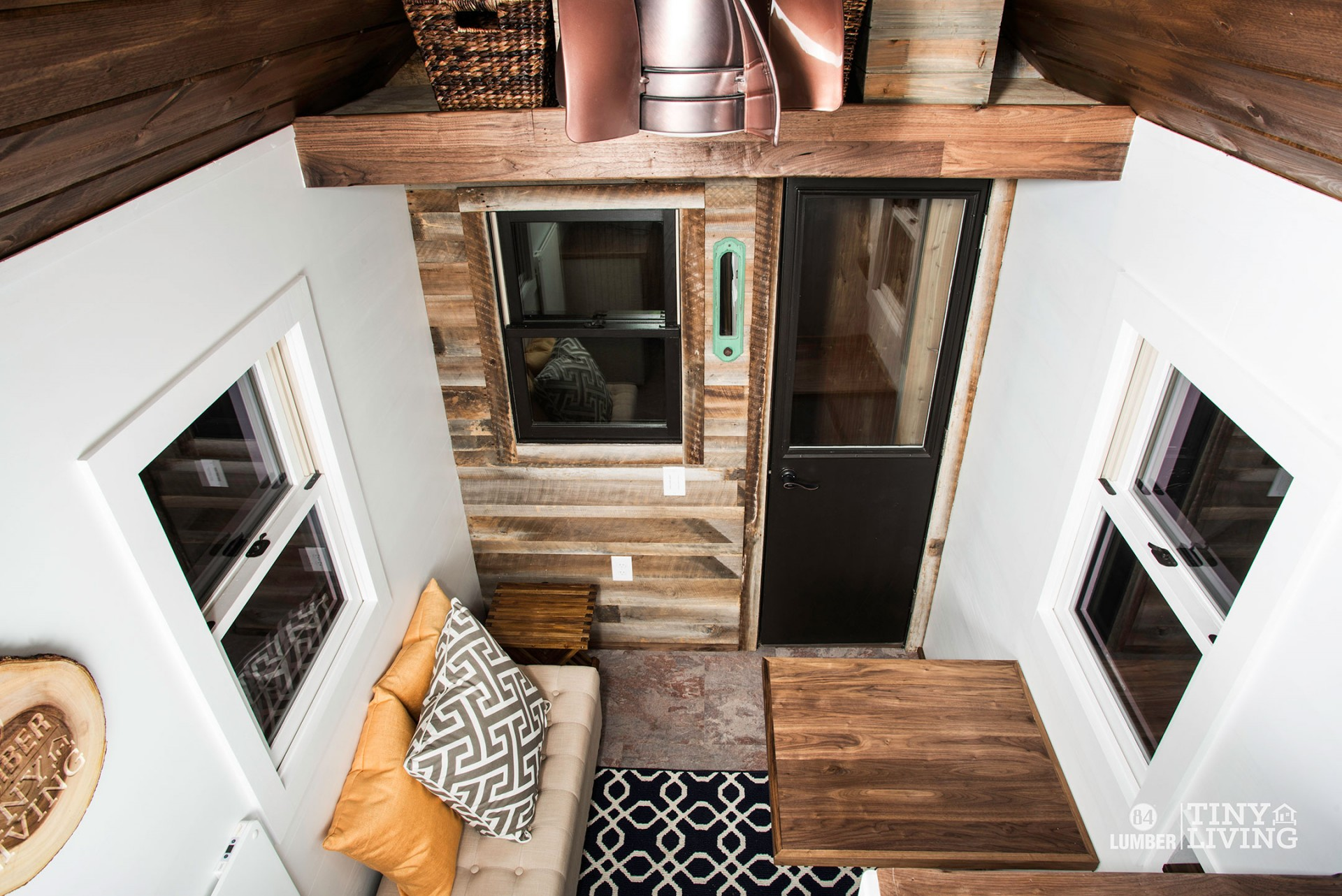 The Roving tiny house prefab model