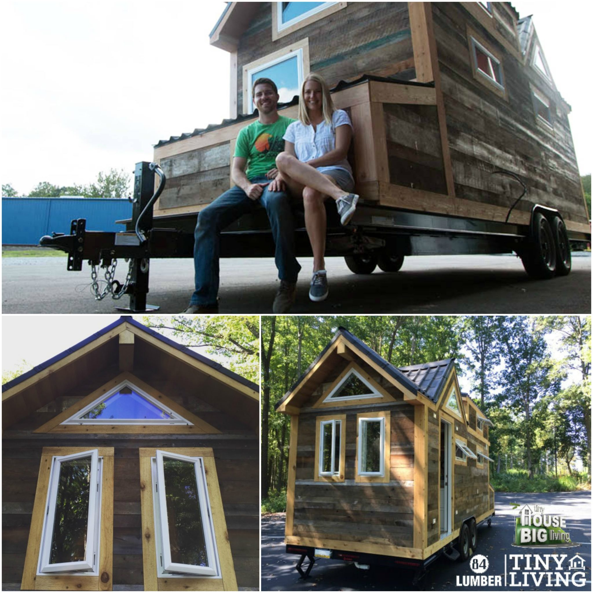 Tiny Living By 84 Lumber Featured On DIY Network Show